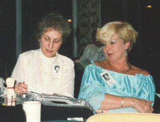 Isabel Hill and Diane Logue