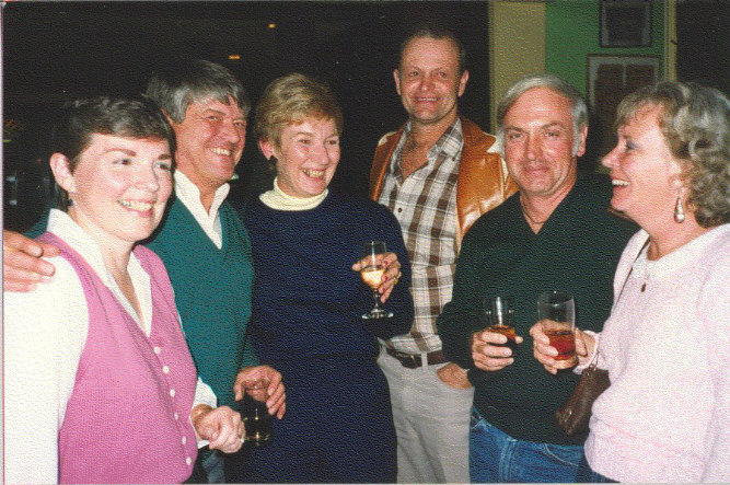 Peg Yerg, Bruce Silvers, Barb Suffern, Ben Dixon, Ray and Marie Benedict
